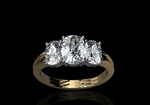 Diamond Trillogy Ring by CMS