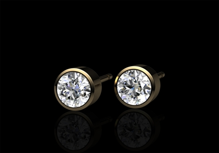 Diamond Earrings by CMS