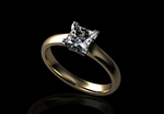 Diamond Solitaire Ring by CMS