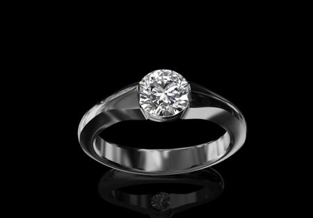 Diamond Solitaire Ring 1.00ct
