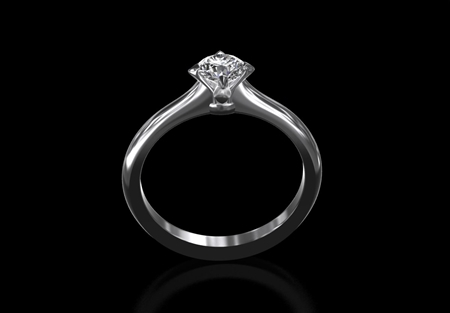 Diamond Solitaire Ring 0.40ct
