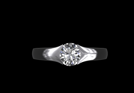 'Victoria' Diamond Solitaire