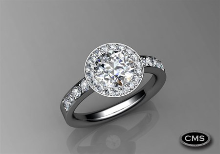 Diamond Ring by CMS