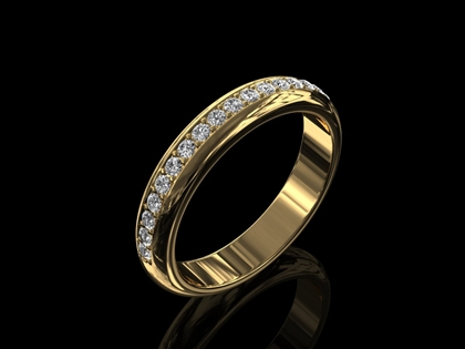Diamond Wedding Ring 'Charlotte'