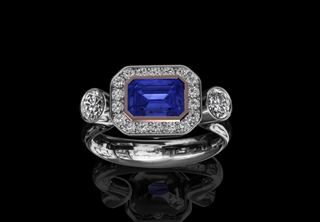 Tanzanite & Diamond