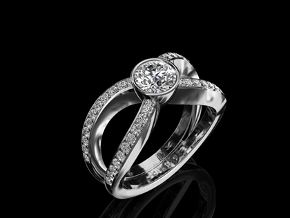 Diamond Ring 'Genoa'