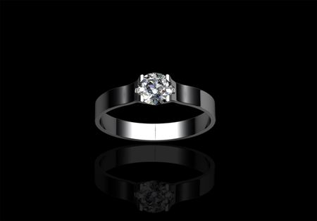 Solitaire Ring by CMS