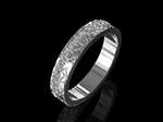 Diamond Wedding Ring - Platinum