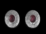Rhodolite Earrings 'Astor'