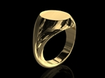 Signet Ring 9ct Gold 7gms