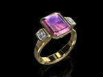 Liberty Tourmaline Dallorzo Ring