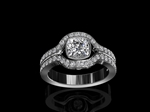 Diamond Engagement Ring 0.90ct