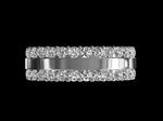 Diamond Wedding Ring 60 2.10cts