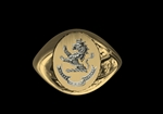 Signet Ring 9ct Gold
