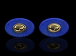 Lapis & Gold Cufflinks 18ct Gold