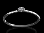 Diamond marquise hinged bangle