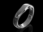 Platinum Fitted Wedding ring