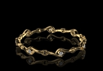 Diamond Bracelet 9ct gold