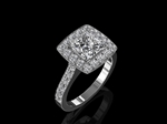 Diamond Ring 1.20cts - Bespoke Design by CMS
