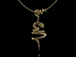 'Vine' Tendril Pendant