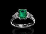 Emerald Dress Ring