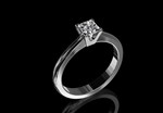 Diamond Solitaire Ring 0.60ct