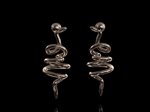 'Vine' Tendril Earrings 9ct Gold